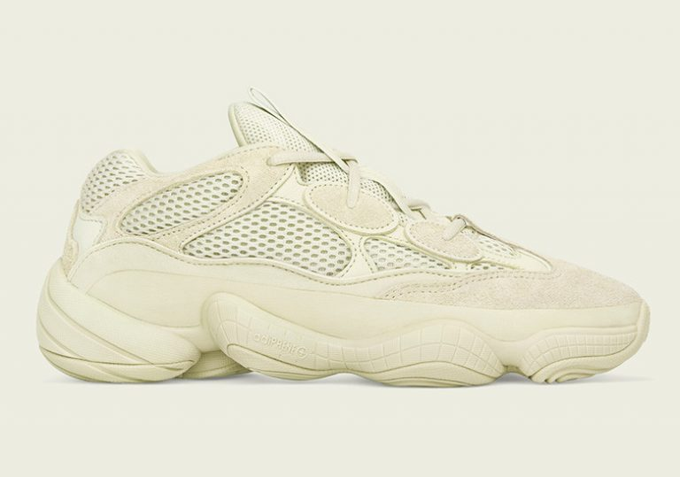 Розыгрыш кроссовок adidas Yeezy 500 «Super Moon Yellow»