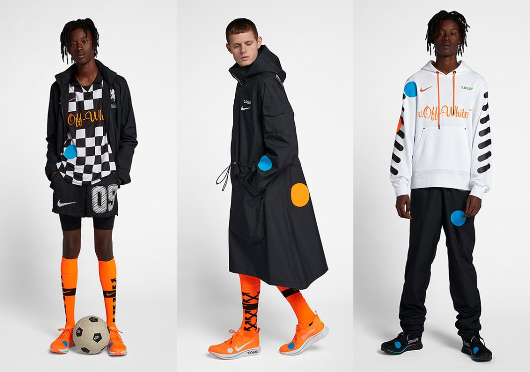 OFF WHITE и NIKE Football, Mon Amour