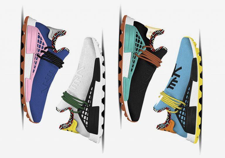 Фаррелл Уильямс и adidas этой зимой предложат новые цветовые решения в коллекции «Inspiration» NMDs