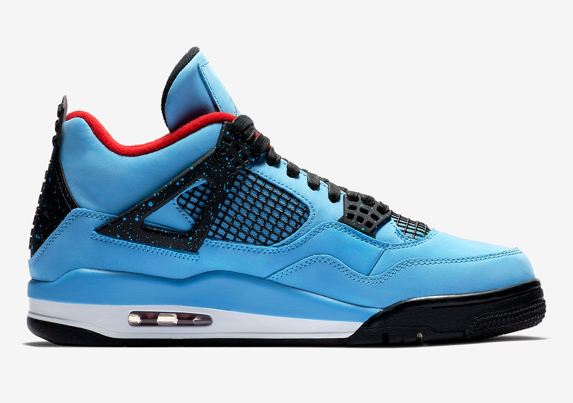 "Кроссовки Travis Scott x Air Jordan 4 ""Cactus Jack"" вид справа"