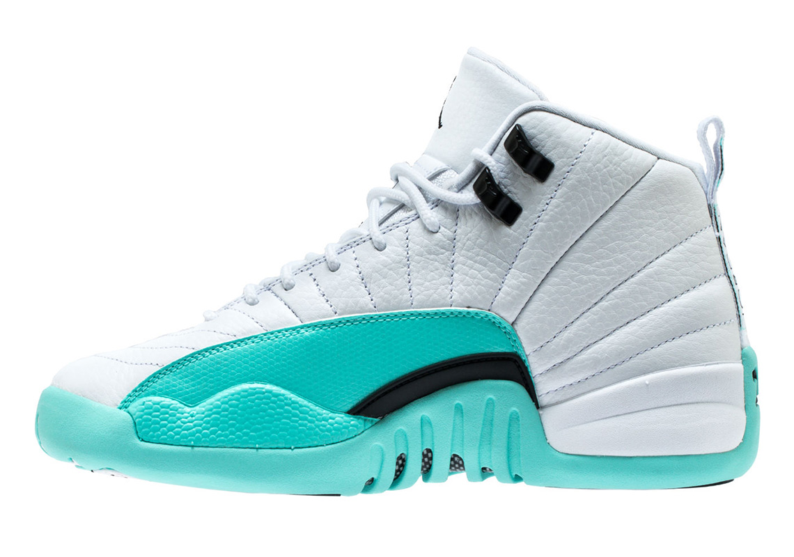 Air Jordan 12 Light Aqua