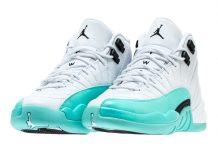 Air Jordan 12 Light Aqua