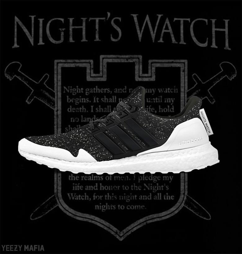 adidas Ultra Boost - ночной дозор