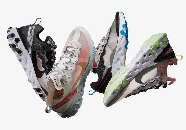 Nike официально представил React Element 87