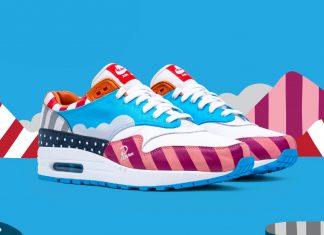 Parra и Nike Air Max 1