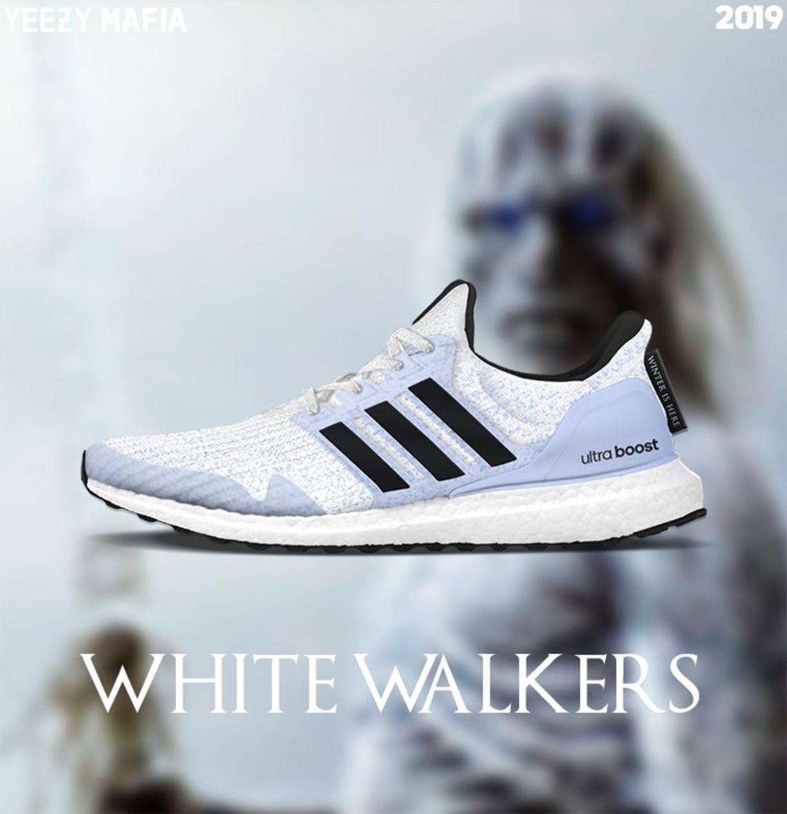 adidas Ultra Boost - белые ходоки