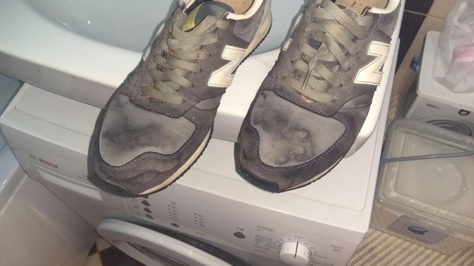 Как стирать кроссовки в стиральной машине-автомат