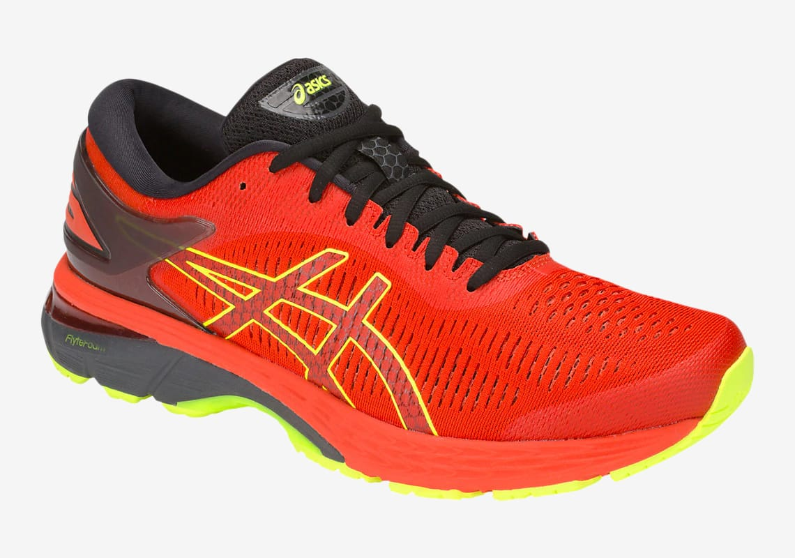 Asics GEL Kayano 25 Cherry Tomato/Black