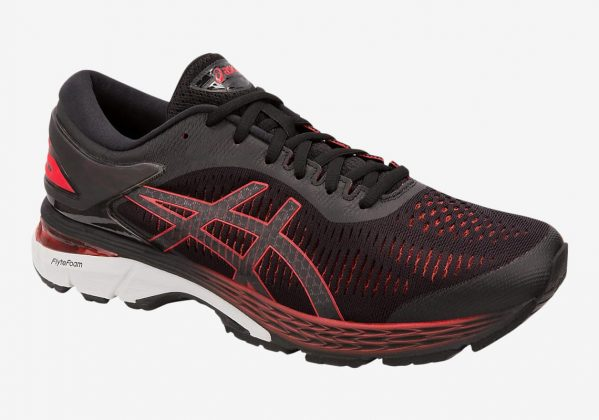 Asics GEL Kayano 25 Black/Classic Red