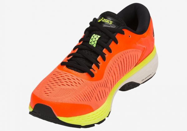 Asics GEL Kayano 25 Shocking Orange/Black