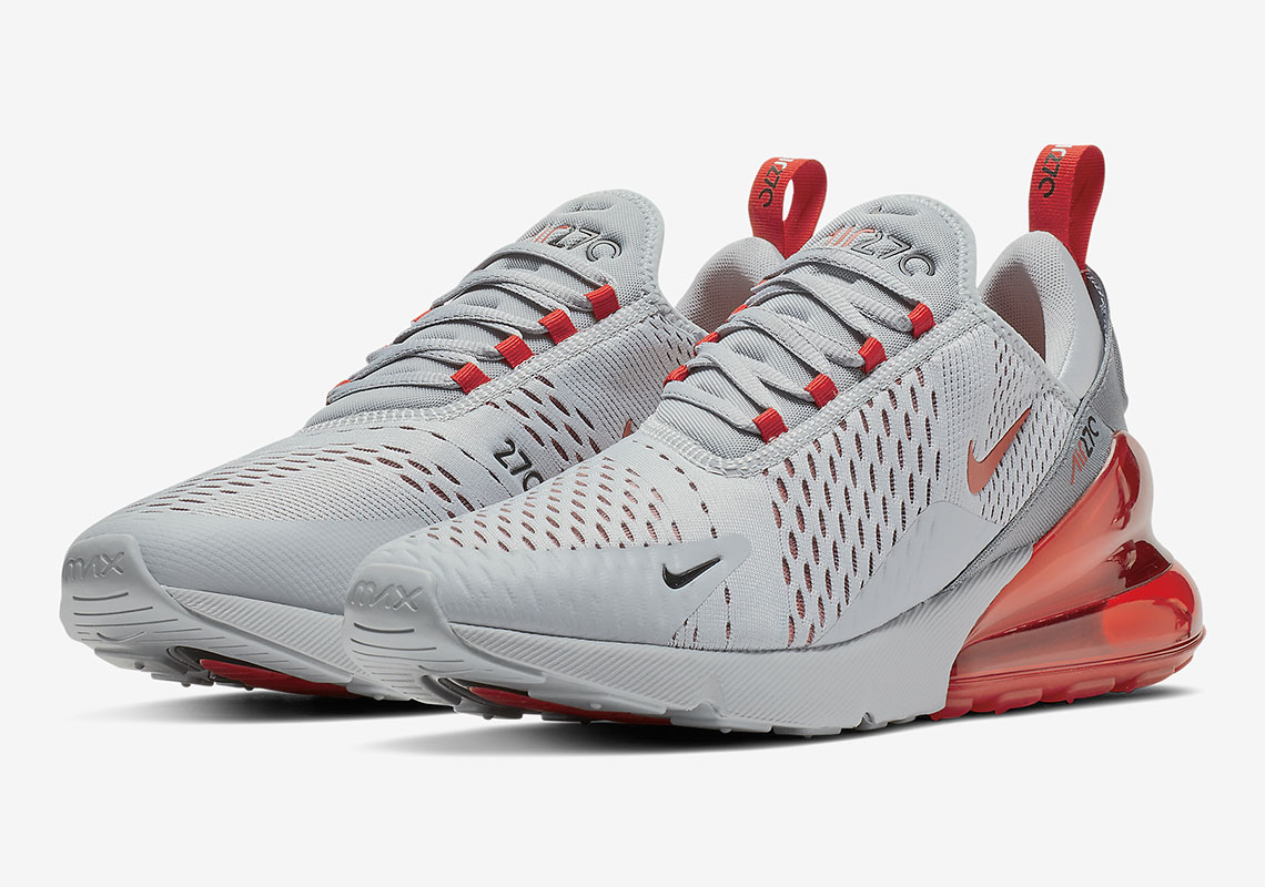 0c864cdc3 Nike Air Max 270 Wolf Grey/University Red-Ember Glow-Cool Grey-