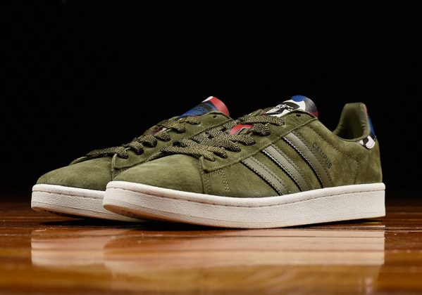 adidas-campus-olive-green-suede
