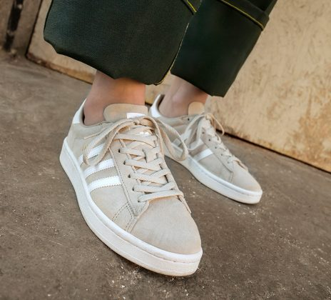 adidas Campus Grey White