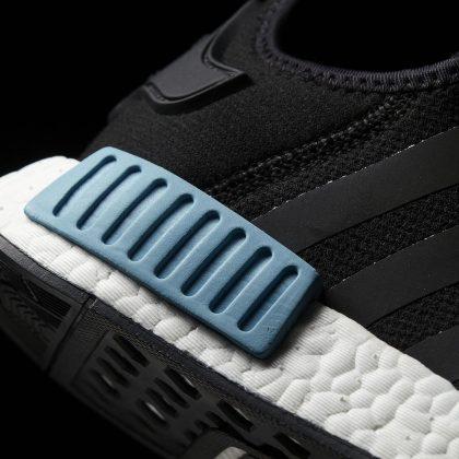 adidas NMD_R1 -core black-icey blue F17