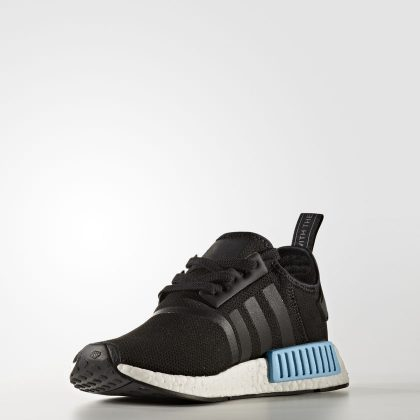 adidas NMD_R1 -core black-icey blue F17