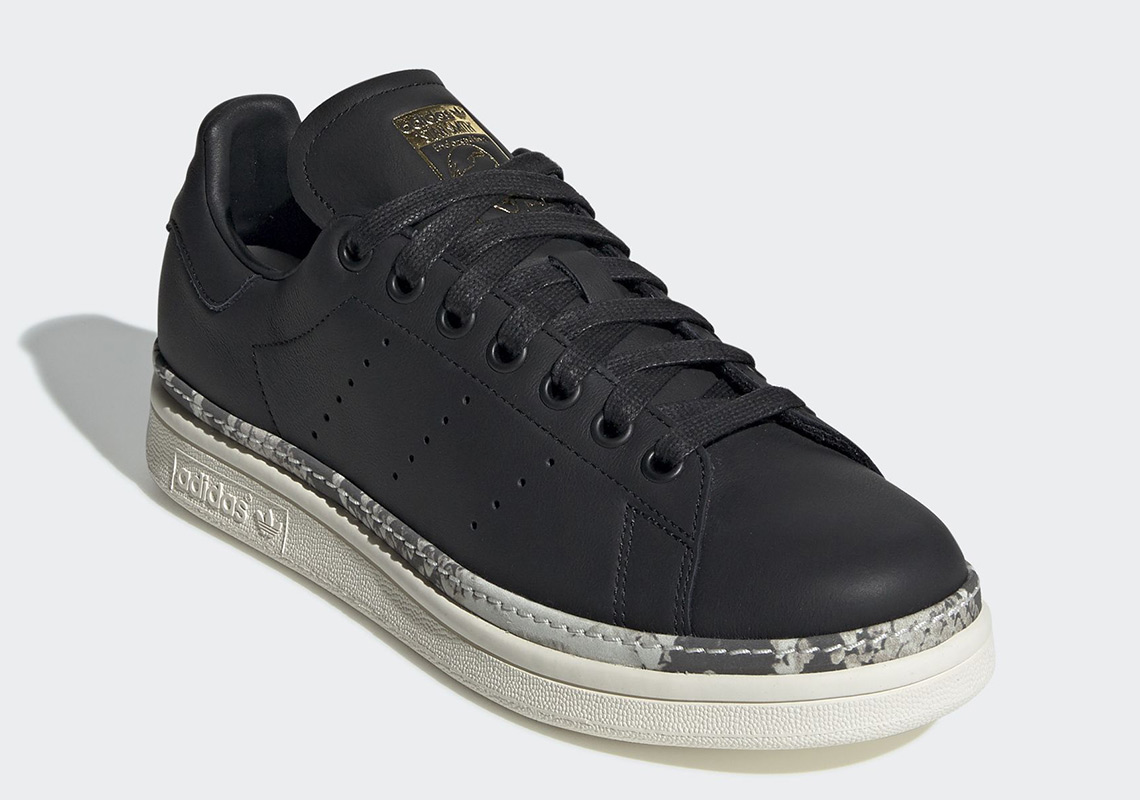 adidas-stan-smith-bold-black-off white