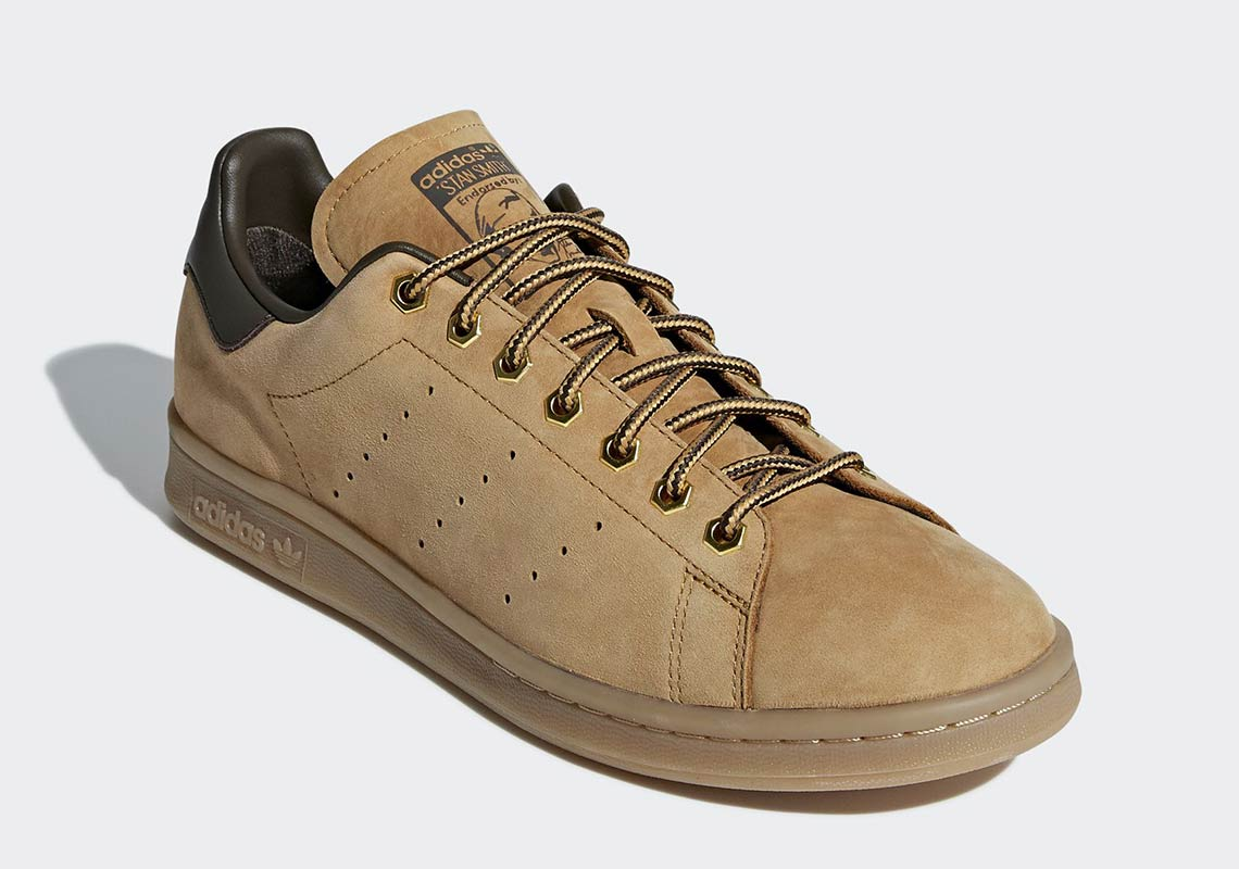 adidas-stan-smith-wheat-mesa-umber