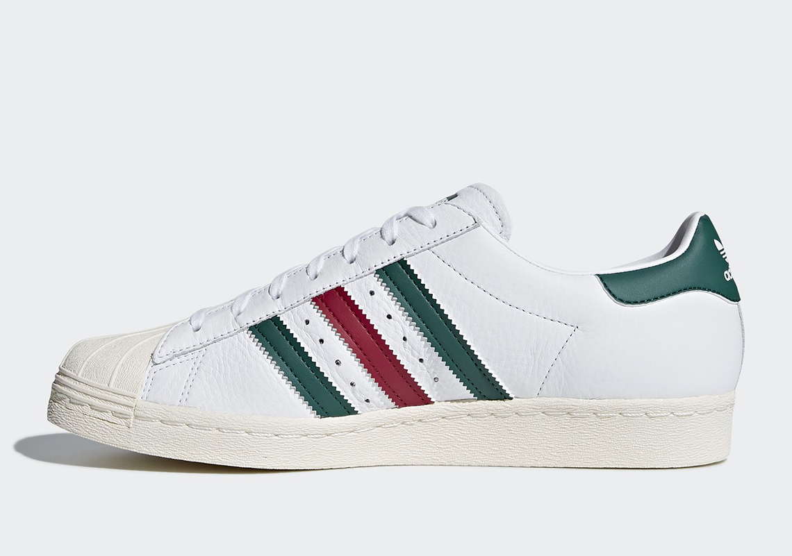 adidas-superstar-italian-white-collegiate green-mystery ruby