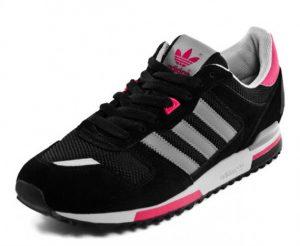 Adidas ZX 700 Black Grey Pink