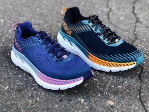hoka-one-one-clifton-5-black-iris-storm-blue; hoka-one-one-clifton-5-marlin-blue