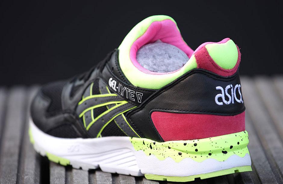 asics-gel-lyte-v-womens-black-neon-pink