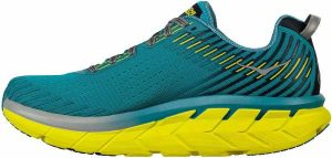 hoka-one-one-clifton-5-green-yellow