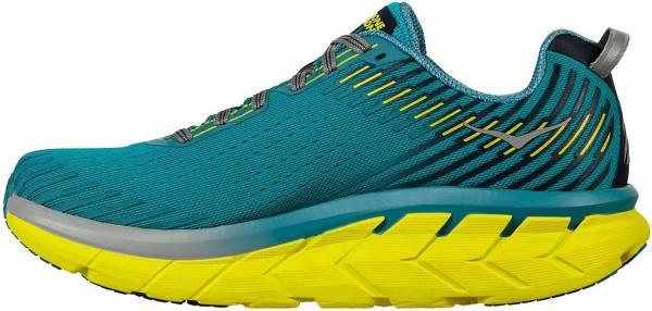 hoka-one-one-clifton-5-green-yellow