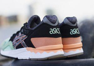 asics-gel-lyte-v-black-green-orange-white