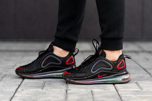 Nike Air Max 720 Black Red