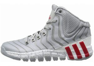 Adidas AdiPure CrazyQuick 2 Grau (Mid Grey / Light Scarlet / Running White)