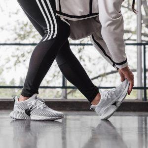 Adidas AlphaBounce Instinct White/Grey Two/Black