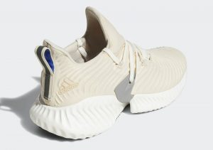 Adidas AlphaBounce Instinct Ash Pearl / Chalk White-Clear Brown
