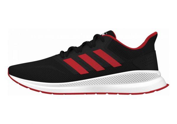 Adidas Runfalcon Black/Active Red/Black