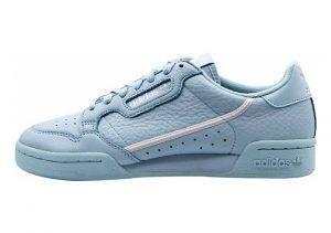 Adidas Continental 80 Ash Grey/Metallic Silver/White