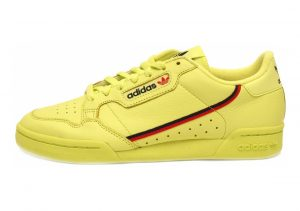 Adidas Continental 80 Semi Solar Yellow/Scarlet/Collegiate Navy