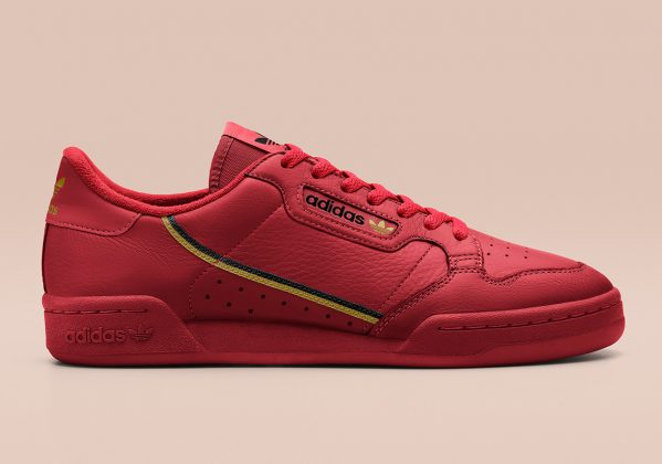 Adidas Continental 80 Red
