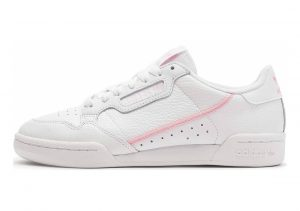 Adidas Continental 80 White/True Pink/Clear Pink