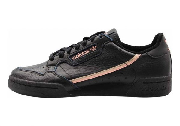 Adidas Continental 80 Black/ Trace Pink/ Copper