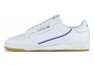 Adidas Continental 80 weiß