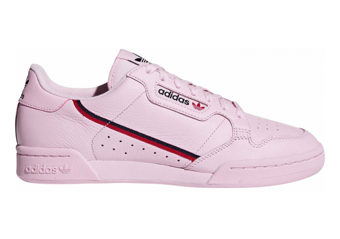 Adidas Continental 80 Clear Pink/Scarlet/Collegiate Navy
