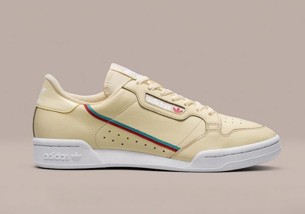 Adidas Continental 80 Yellow White