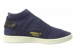 Adidas Stan Smith Sock Primeknit Blau (Trace Blue/Trace Blue/Trace Blue)