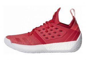 Adidas Harden Vol. 2 Bold Red-shock Red-light Grey