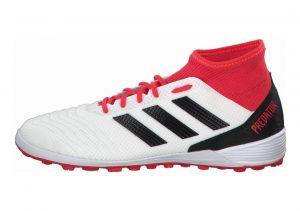 Adidas Predator Tango 18.3 Turf Footwear White/Core Black/Real Coral