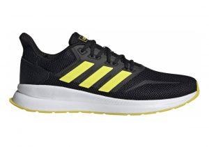 Adidas Runfalcon Multicolour (Core Black/Shock Yellow/Ftwr White F36206)