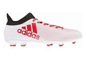 Adidas X 17.3 Firm Ground White
