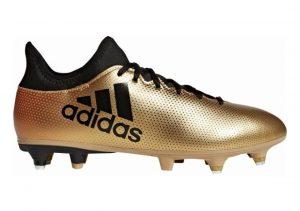 Adidas X 17.3 Soft Ground Amarillo (Ormetr / Negbás / Rojsol 000)
