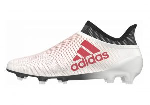 Adidas X 17+ Purespeed Firm Ground Weiß (White/Real Coral/Core Black White/Coral/Blk)