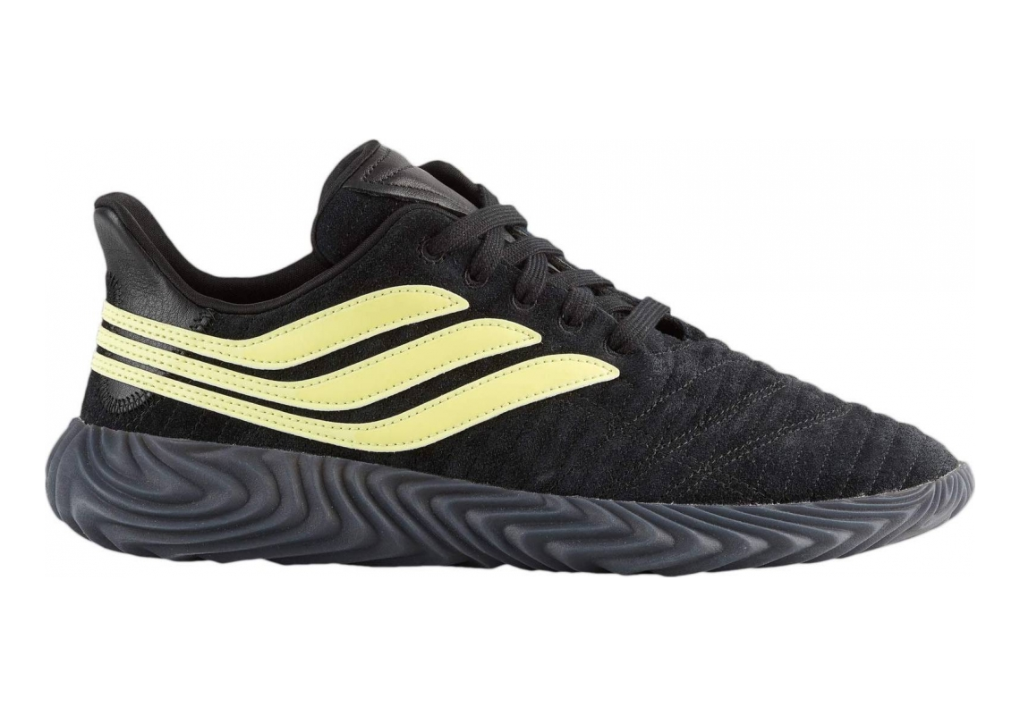 Adidas Sobakov Black/Semi Frozen Yellow