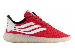 Adidas Sobakov Scarlet/White/Black